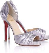Turbella 120 metallic sandals