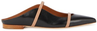 Malone Souliers Maureen Black Leather Mules