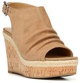 Franco Sarto Trellis Suede Platform Sandals