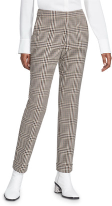 Lafayette 148 New York Clinton Heritage Plaid Cuffed Pants