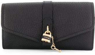 Chloé padlock detail wallet