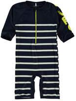 Name It One-Piece Stripe Swimsuit