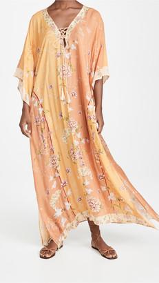 Agua Bendita Nadia Blomma Caftan Dress