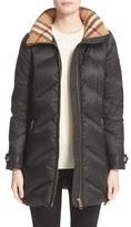 Burberry Women's Eastwick Chevron Quilted Coat