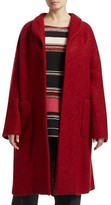 Thumbnail for your product : Marina Rinaldi, Plus Size Boucle Wool Cocoon Coat