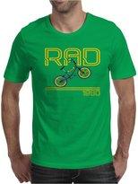 TopLAD Retro 1980's BMX Bike Mens T-Shirt /