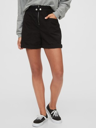 Gap High Rise Utility Shorts