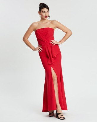Montique Hope Strapless Gown