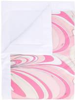 Emilio Pucci Junior swirl print blanket