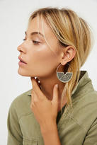 Womens DECO STATEMENT HOOPS