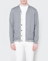 Sacai Cotton Cashmere Knit Cardigan