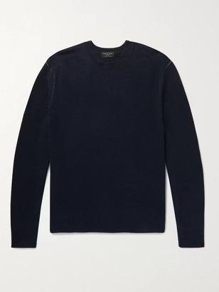 Rag & Bone Haldon Cashmere Sweater - Men - Blue