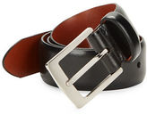 Bosca Wide Leather Belt