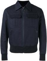 Neil Barrett bomber jacket - men - Cotton/Polyamide/Polyester/Viscose - S