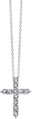Brilliance+ Brilliance Cross Pendant Necklace with Swarovski Crystals