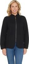 Factory Quacker DreamJeannes Glam Zipper Front Jacket