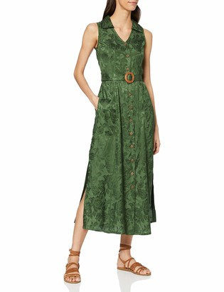 Joe Browns Women's Sleeveless Jacquard Maxi Dress Casual