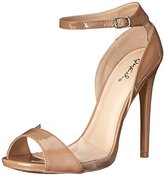 Qupid Women's Diamond 11 Dress Sandal