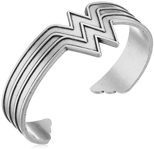 Alex and Ani Wonder Woman Cuff Bracelet, Rafaelian Silver-Tone