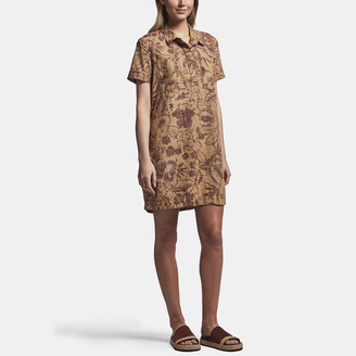James Perse Floral Print Pocket Shirt Dress