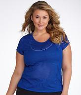 Calvin Klein Mesh T-Shirt Plus Size,, Activewear - Women's