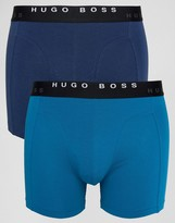 HUGO BOSS BOSS By Trunks 2 Pack In Longer Length