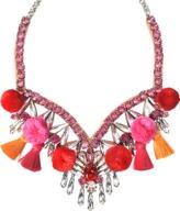 Shourouk Tahia Pink Necklace