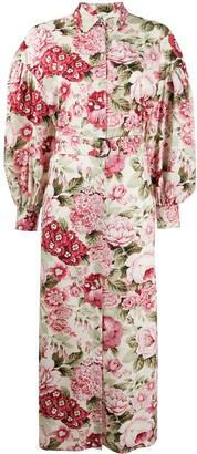 P.A.R.O.S.H. Floral-Print Dress