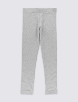 Marks and Spencer StayNEWTM Cotton Leggings with Stretch (3-14 Years)