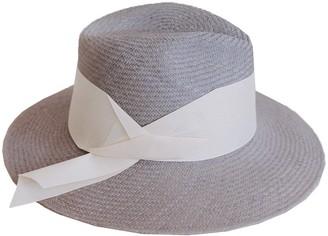 The Freya Brand Gardenia Panama Wide Band Hat