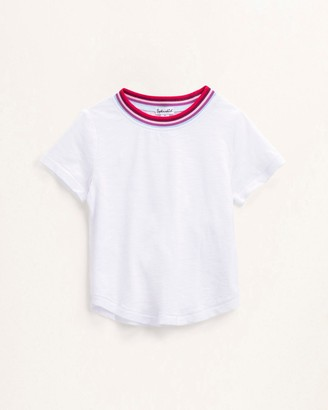 Splendid Toddler Girl Yarn Dye Stripe Tee