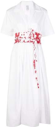 Rosie Assoulin Obi shirt dress