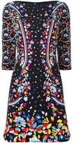 Peter Pilotto cady mini dress - women - Polyester/Spandex/Elastane/Acetate - 10
