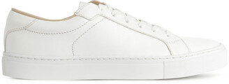 Arket Leather Court Trainers