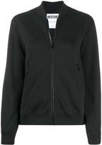 Moschino embellished logo bomber jacket