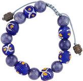 Armenta African & Iolite Beaded Bracelet