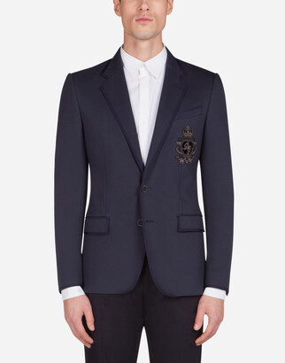 Dolce & Gabbana Jersey Jacket With Patch