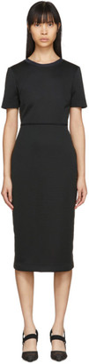 Fendi Black Forever Short Sleeve Dress
