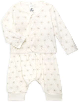 Petit Bateau Baby's 2-Piece Printed Sweater & Leggings Set