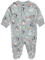 "Carter's Baby Boys' ""Snowman Fun"" Footed Coverall"