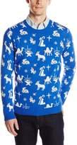 Blizzard Bay Men's Nativity Scatter Ugly Christmas Sweater