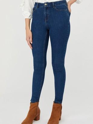 Monsoon Iris Skinny Organic Cotton Denim Jeans - Blue