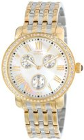 "Invicta Women's 15010 ""Angel"" 18k Gold Ion Plating, Stainless Steel, and Crystal Two-Tone Watch"