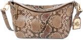 Lauren Ralph Lauren Bramfield Cait Python-Embossed Crossbody Bag