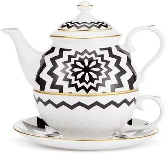The Wolseley Geometric Porcelain Tea Pot