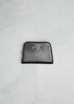 Lanvin Black Compact Zip Wallet