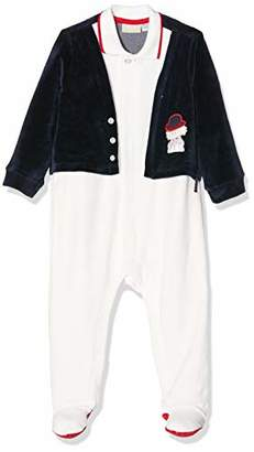 Chicco Baby Boys' Tutina Apertura Davanti Footies, (Size: )