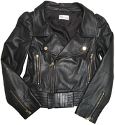 Valentino Black Leather Biker jacket