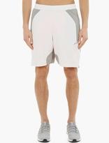 adidas White Hybrid Shorts