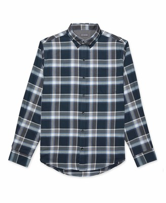 Van Heusen Men's Big & Tall Big Flex Long Sleeve Stretch Button Down Shirt